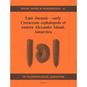 Product - 041 Late Jurassic - Early Cretaceous cephalopods of eastern Alexander Island, Antarctica. Image