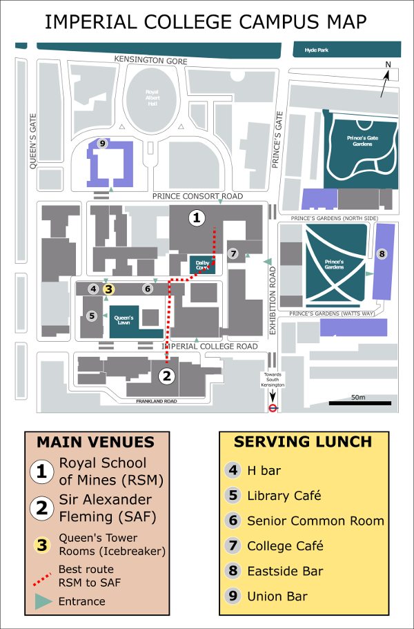 PalAss Annual Meeting 2017 - Campus Map