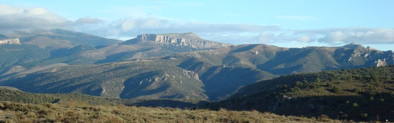 Views from the Moncayo Natural Park (Iberian Chains, Spain), which contains Cambrian outcrops with spectacular invertebrate fossils. We are planning to visit this area the second day of the field-trip..