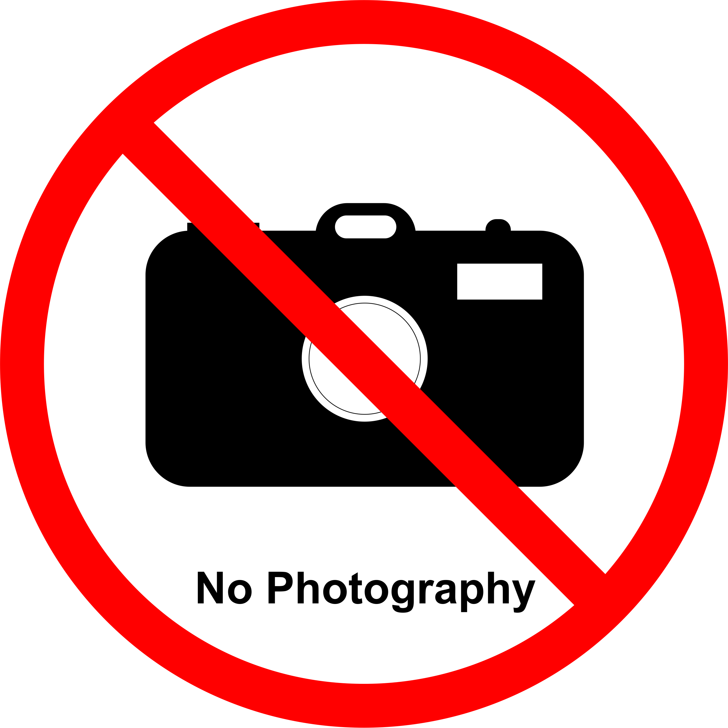 Permission Sign - Photography NOT allowed