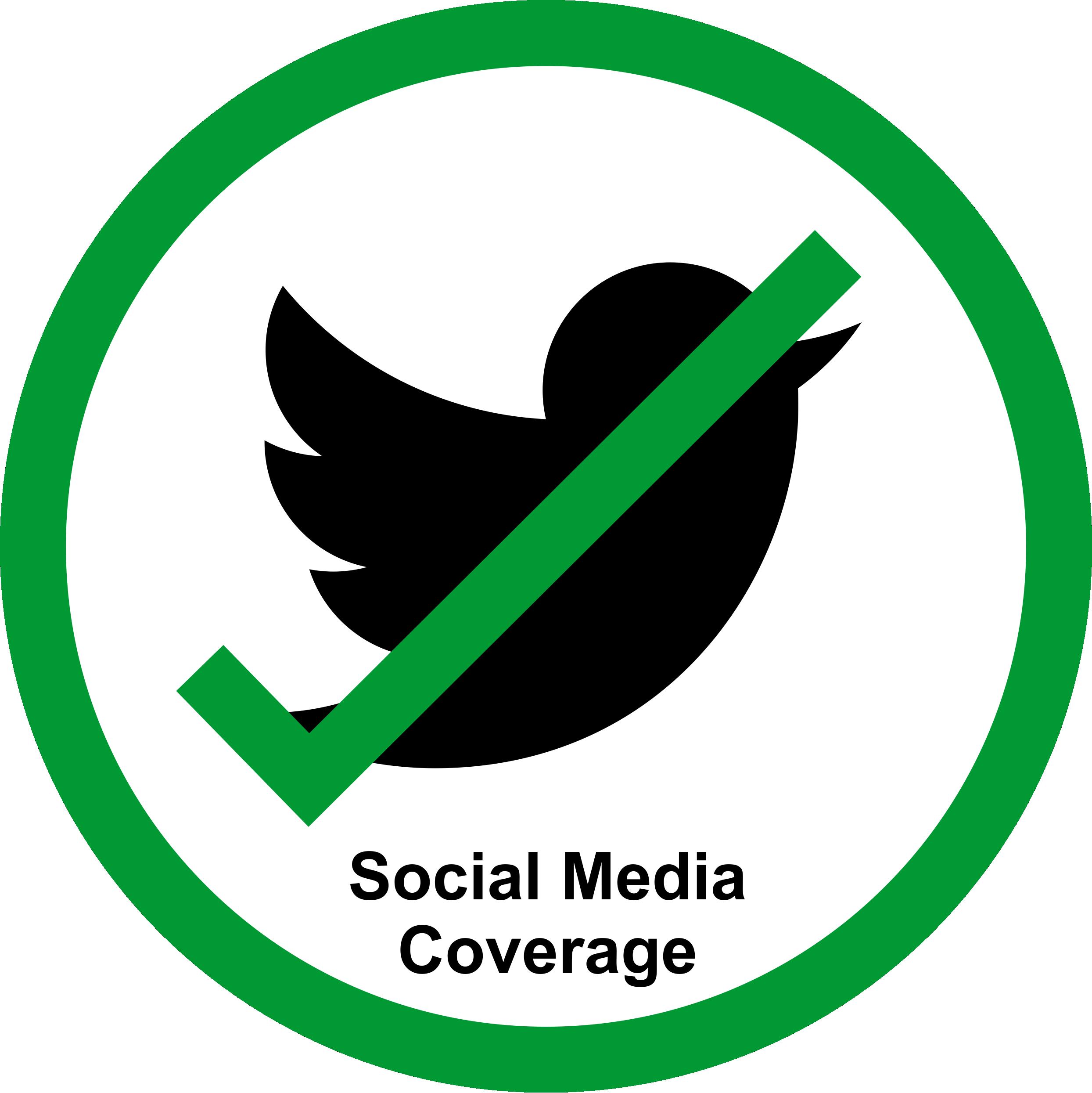 Permission Sign - Social Media Allowed