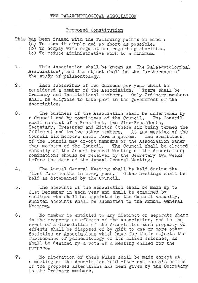 PalAss at 60 - Constitution from 1957