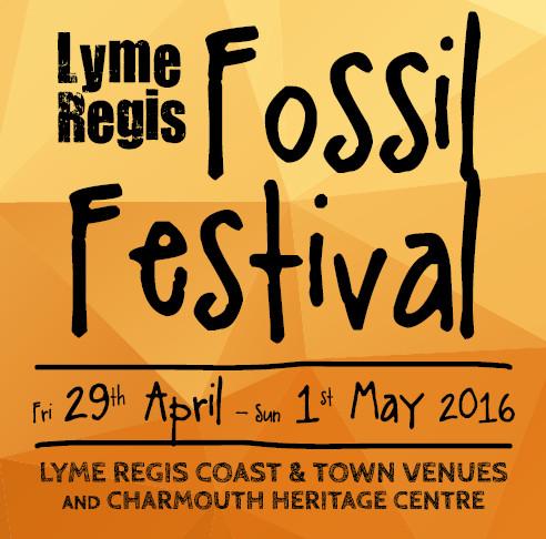 Lyme Regis Fossil Festival 2016 - Logo