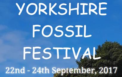 Yorkshire Fossil Festival - 2017 - Logo