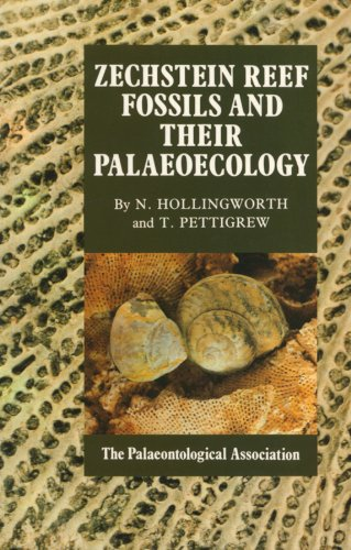 No. 3 - Zechstein Reef Fossils and Their Palaeoecology  - Cover