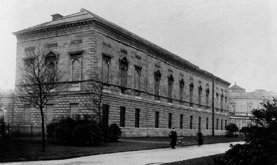 The Natural History building opened in 1857