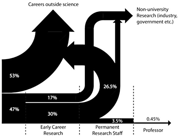 Figure 1 - An illustration redrawn from the Royal Society report