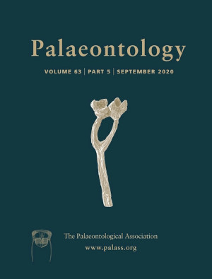 Palaeontology - Vol. 63 Part 5 - Cover Image