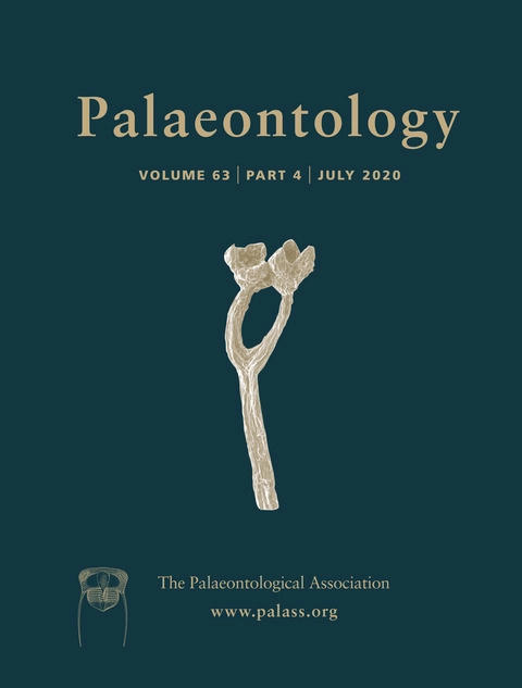 Palaeontology - Vol. 63 Part 4 - Cover Image