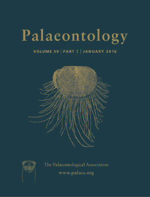 Palaeontology Cover Image - Volume 59 Part 3