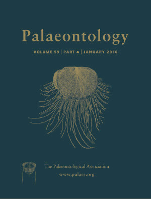 Palaeontology Cover Image - Volume 59 Part 4