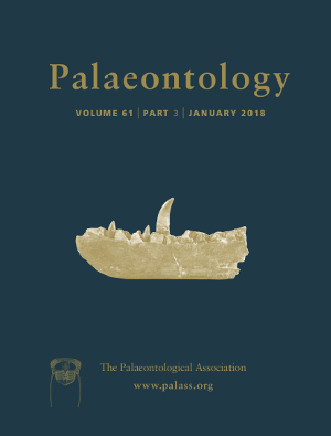 Palaeontology Cover Image - Volume 61 Part 3