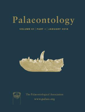Palaeontology Cover Image - Volume 61 Part 4