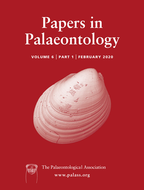 Papers in Palaeontology - Volume 6 Issue 1 - Cover