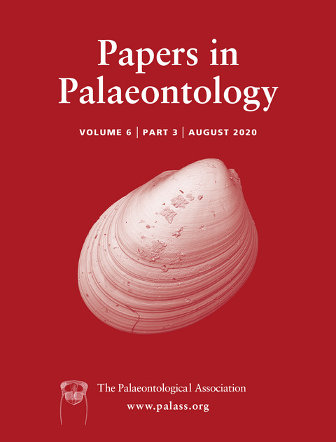 Papers in Palaeontology - Volume 6 Issue 3 - Cover
