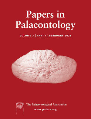 Papers in Palaeontology - Volume 7 Issue 1 - Cover