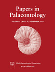 Papers in Palaeontology - Volume 5 Issue 4 - Cover