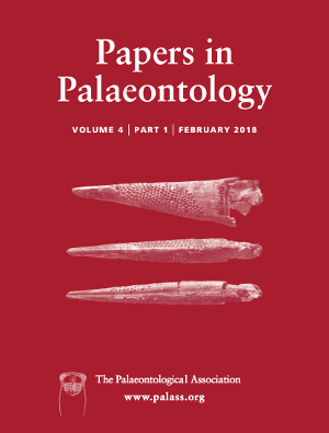 Papers in Palaeontology - Volume 4 Part 1 - Cover Image