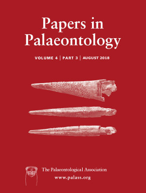 Papers in Palaeontology - Volume 4 Part 3 - Cover Image