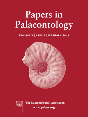 Papers in Palaeontology - Volume 5 Issue 1 - Cover
