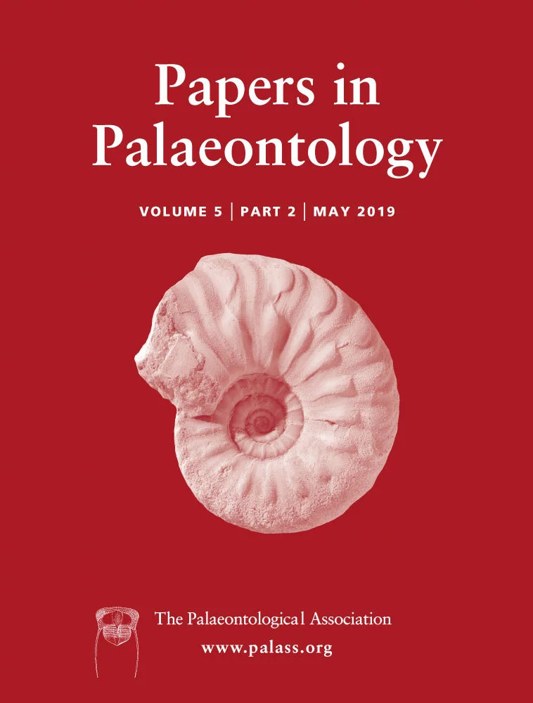 Papers in Palaeontology - Volume 5 Issue 2 - Cover