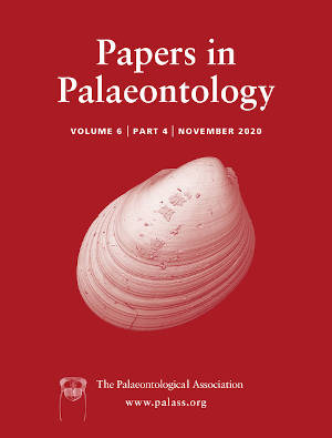 Papers in Palaeontology - Volume 6 Issue 4 - Cover