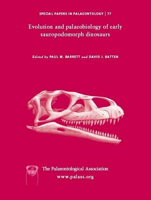 Special Papers in Palaeontology - No. 77 - Cover Image