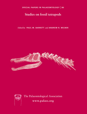 Special Papers in Palaeontology - No. 86 - Cover Image
