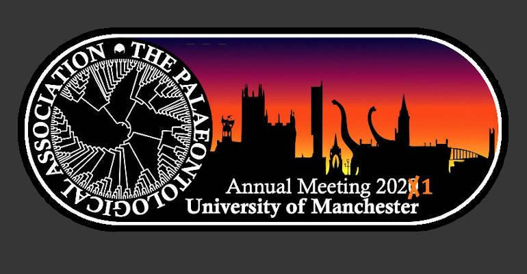 The Palaeontological Association 2021 Annual Meeting Manchester banner
