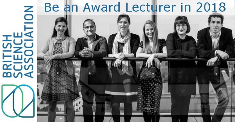 BSC - Be an Award Lecturer in 2018