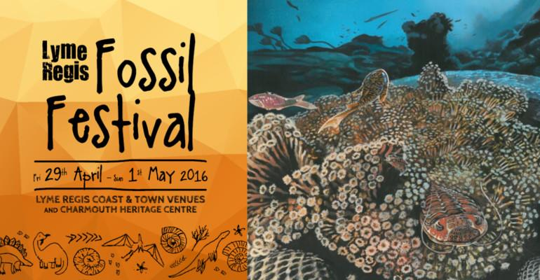 Lyme Regis Fossil Festival 2016 - Front Page